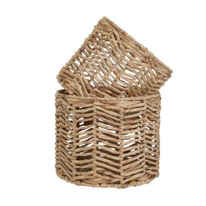Kenna Basket Set 2pc - Water Hyacinth