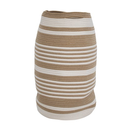 Cocoon Laundry Basket - Natural/White