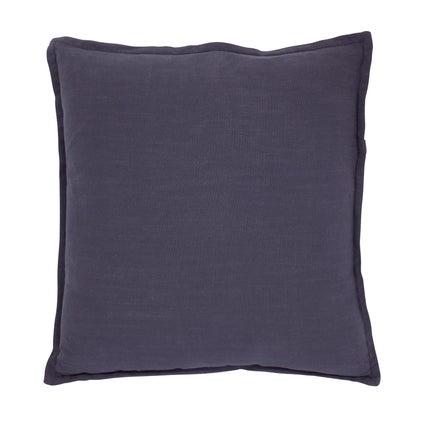 Anya Linen Look Cushion - Midnight