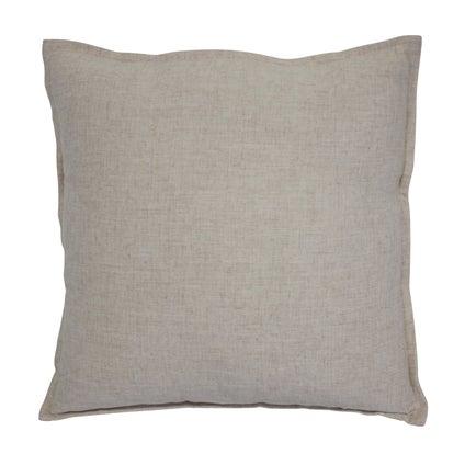 Anya Linen Look Cushion - Natural