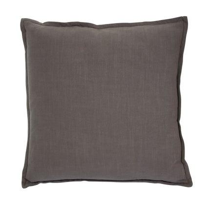 Anya Linen Look Cushion - Olive