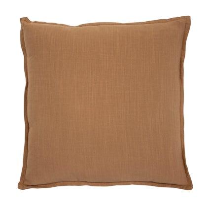 Anya Linen Look Cushion - Wheat